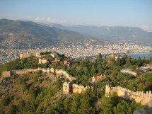 Alanya Turkey Castle