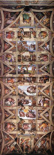 Le Plafond De La Chapelle Sixtine : plafond, chapelle, sixtine, Plafond, Chapelle, Sixtine, Wikipédia