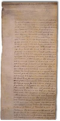 The Bill of Rights (1688 or 1689)