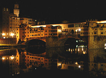 Ponte Vecchio in Florence (Firenze), Italy