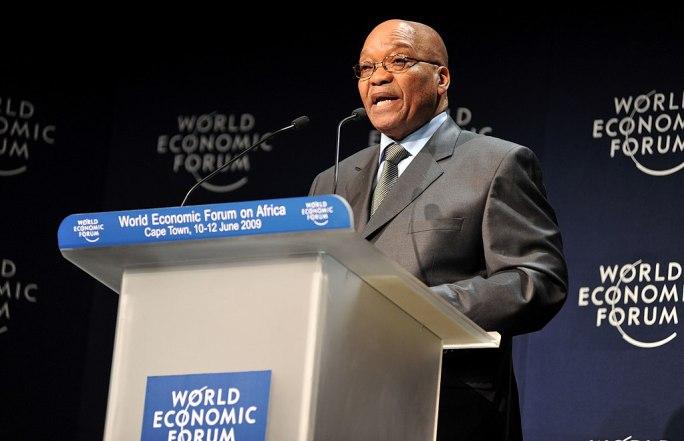 Jacob Zuma, 2009 World Economic Forum on Africa-3