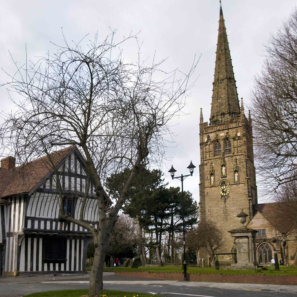 St. Nicolas' Church, Kings Norton, and the Saracen's Head