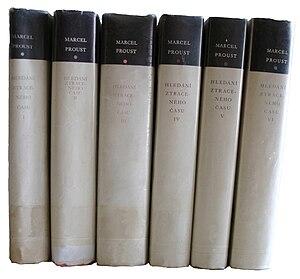 Français : Edition tcheque de Marcel Proust, A...