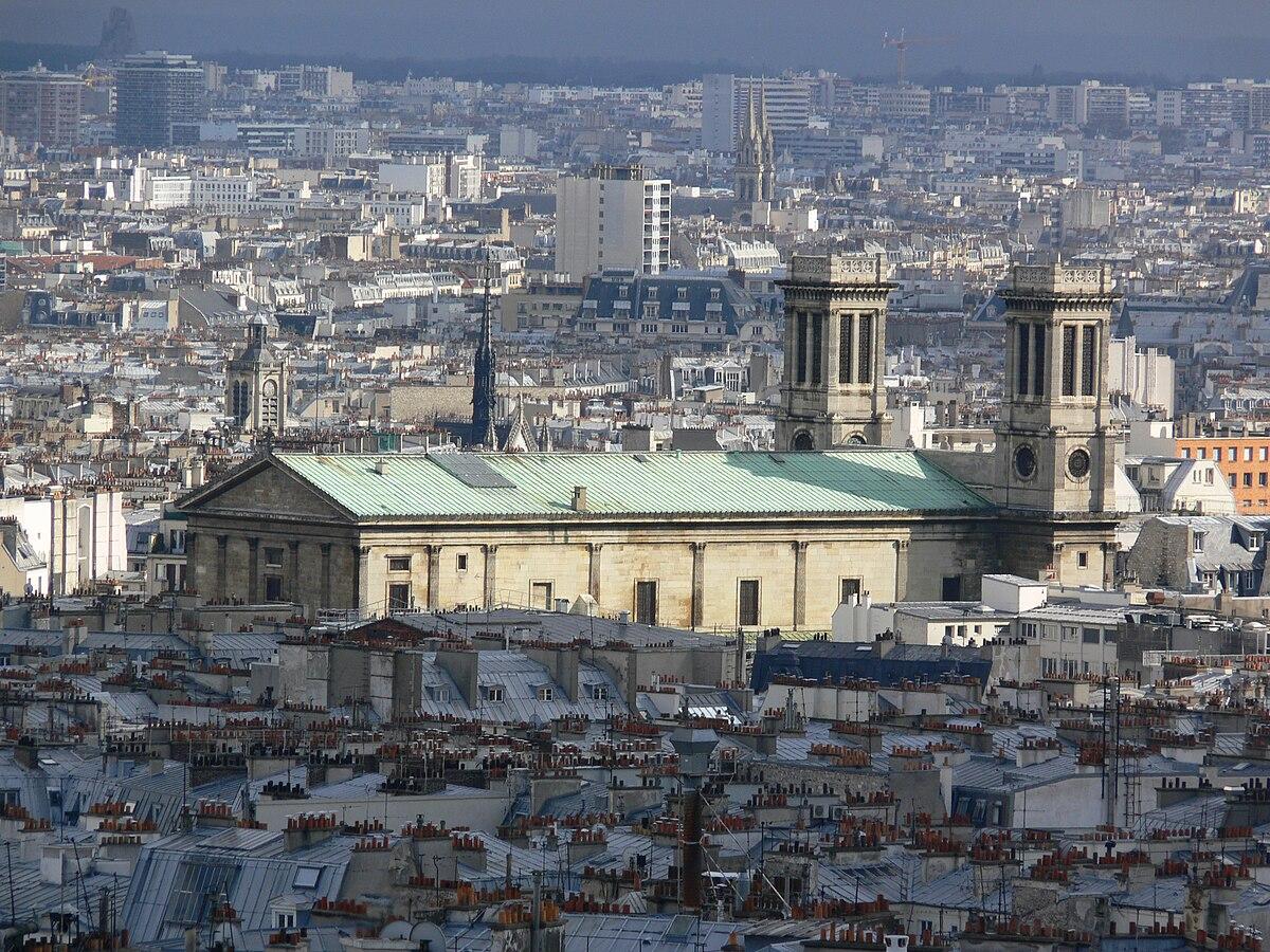 201 Glise Saint Vincent De Paul Paris Wikimedia Commons