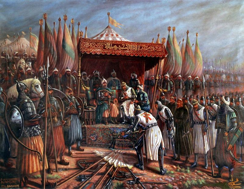 https://i0.wp.com/upload.wikimedia.org/wikipedia/commons/thumb/e/e3/Saladin_and_Guy.jpg/800px-Saladin_and_Guy.jpg