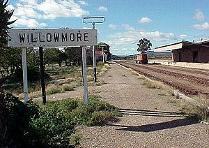 English: Willowmore station, Eastern Cape