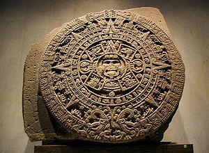 "English: The Aztec ""Calendar Stone""...."