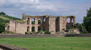 Imperial thermæ in Trier. Français : Thermes i...