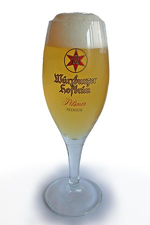 "English: Glas of german ""Würzburger Hofbr..."