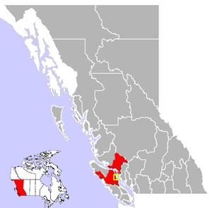 Campbell River, British Columbia Location