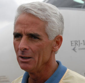 A cropped version of :Image:Charlie Crist.