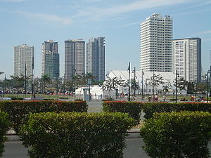 English: Fort Bonifacio in Taguig City