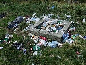 English: Garbage in Romania