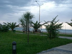 Beach of Batumi