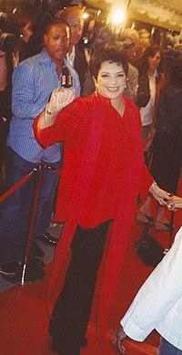 Liza Minnelli en el Festival Internacional de Cine de Toronto 2005