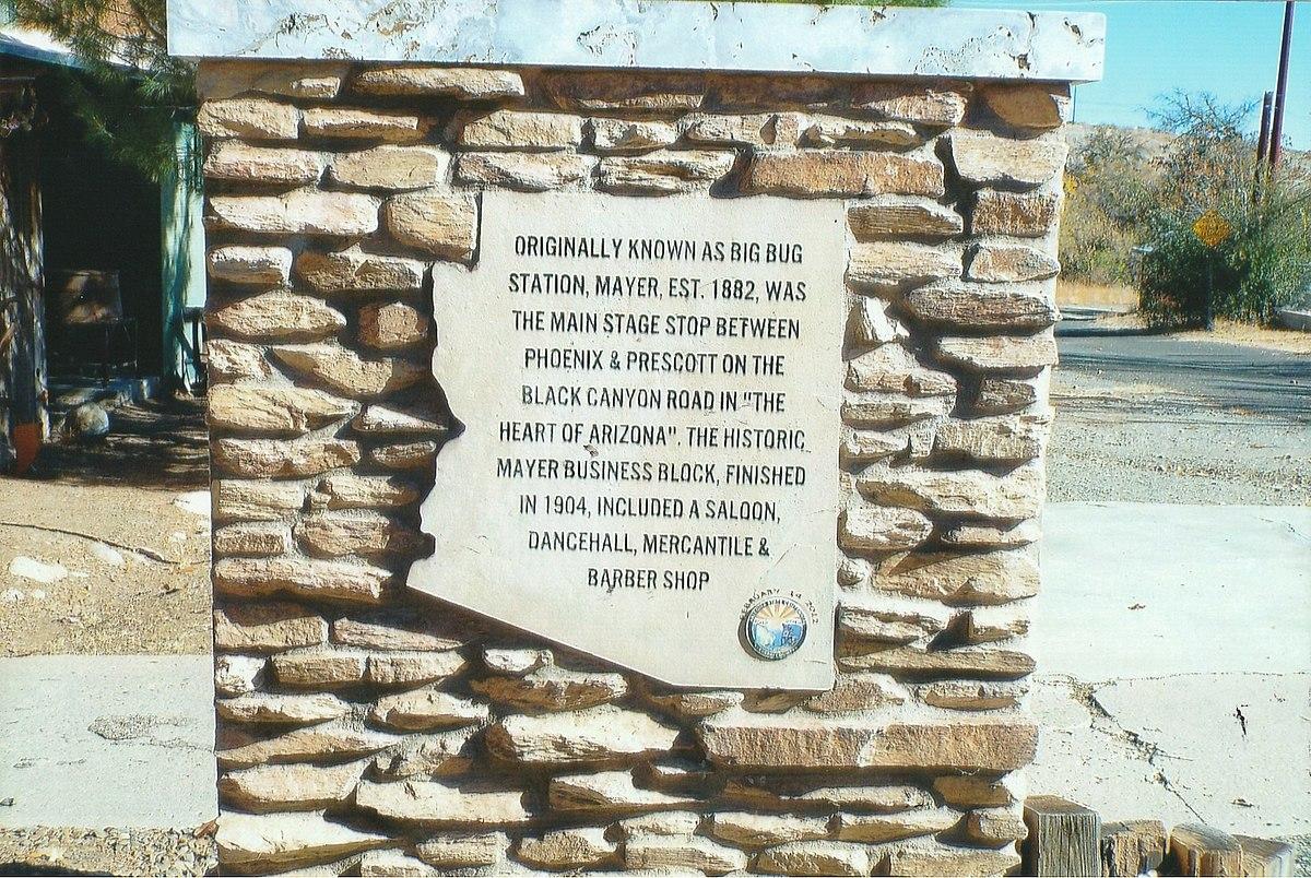 List of historic properties in Mayer Arizona  Wikipedia
