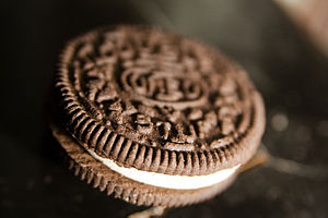 Oreo Double Stuff Cookie.
