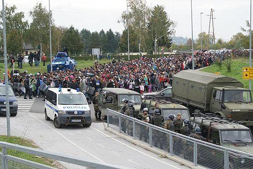 Slovenska vojska pri reševanju migrantske situacije z več zmogljivostmi 01