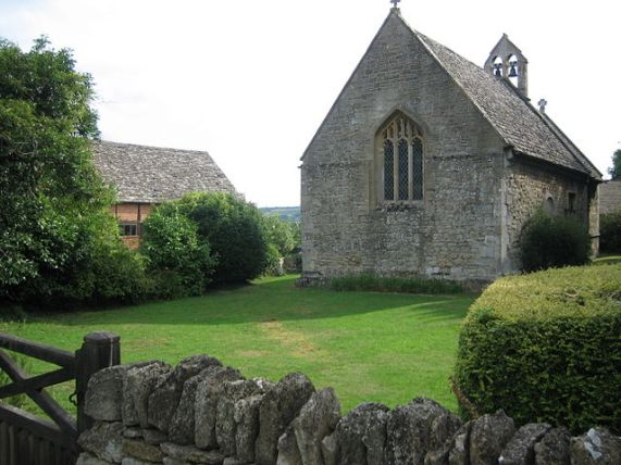 Norman church at Stanley Pontlarge, Gloucestershire