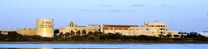 Texas A&M University-Corpus Christi campus. Cr...