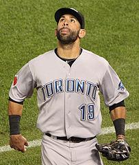 Jose Bautista of the Blue Jays