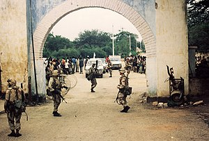 English: US Army in Somalia 1992, Operation Re...