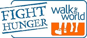 Logo of the Fight Hunger: Walk the World campaign