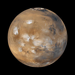 NASA retouched digital Mars image