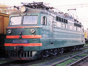 Soviet electric locomotive VL60pk (ВЛ60пк), c....