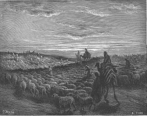 English: Abraham Goes to the Land of Canaan (G...