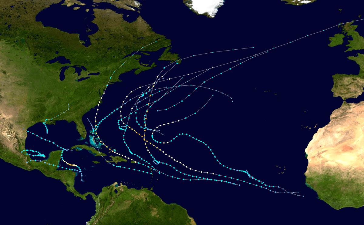 Saison Cyclonique 2011 Dans L'océan Atlantique Nord — Wikipédia