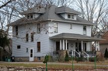 American Foursquare House Style