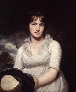 Amelia Opie, by John Opie (died 1807). See sou...