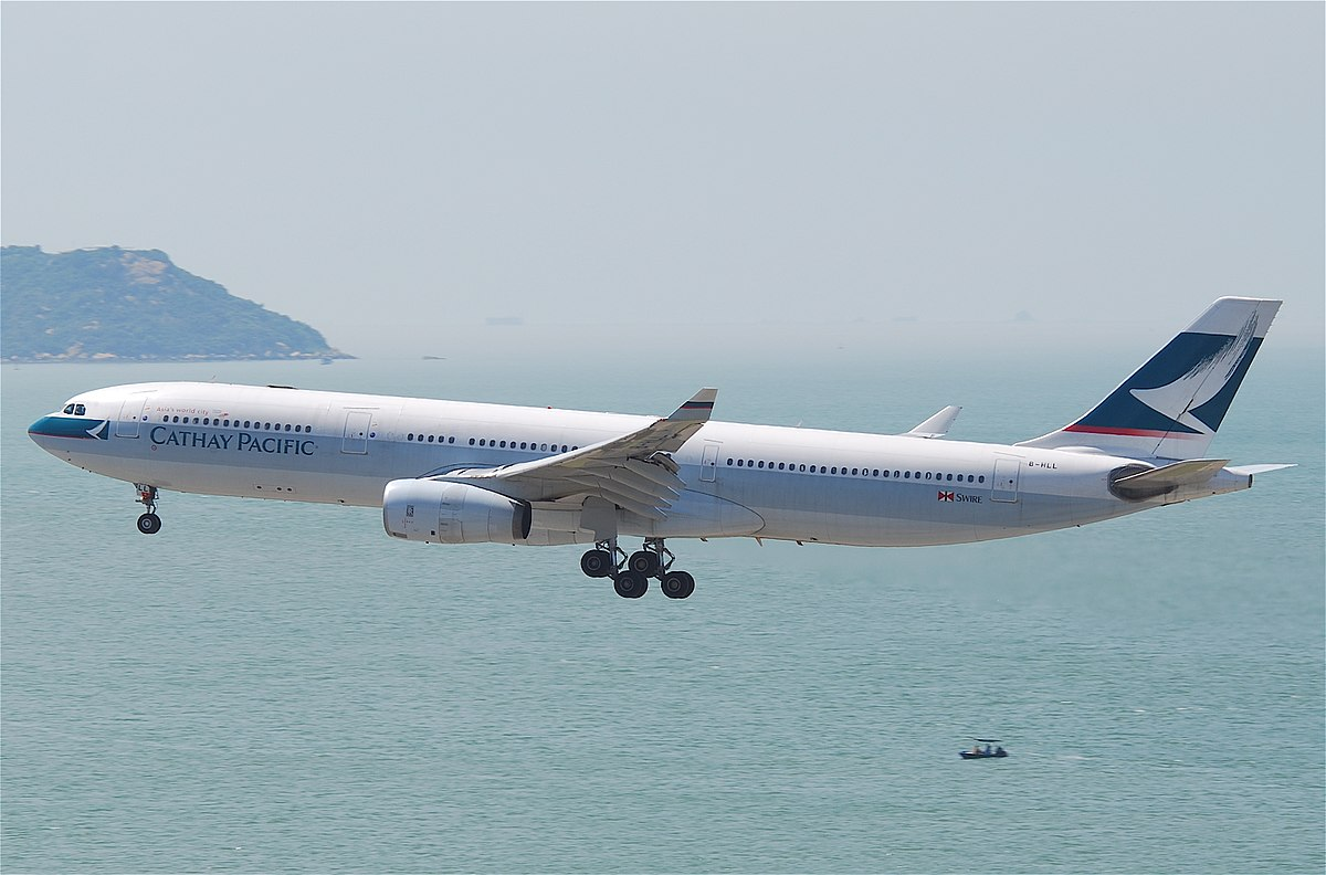 Cathay Pacific Flight 780  Wikipedia
