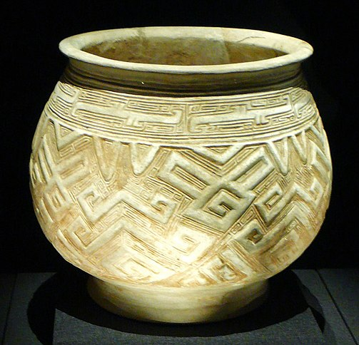 File:China shang white pottery pot.JPG