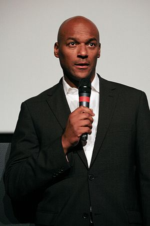 Colin Salmon at Dinard british film festival