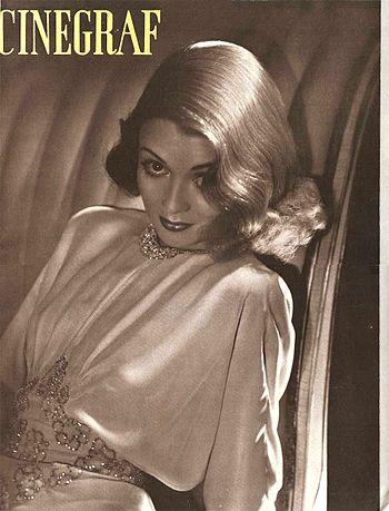 Constance Bennett on the Argentinean Magazine ...
