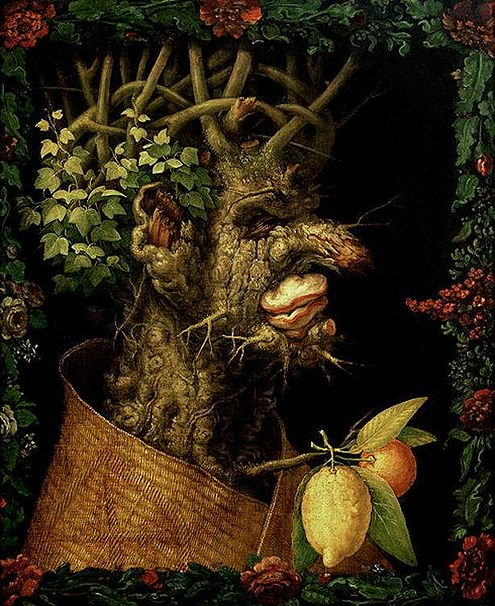 Winter, Arcimboldo