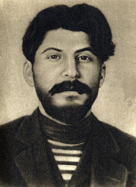Joseph Stalin, 1912