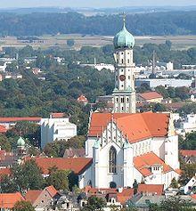 St Ulrich und Afra Augsburg  Wikipedia