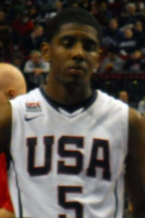 English: Kyrie Irving at the 2010 Nike Hoop Su...