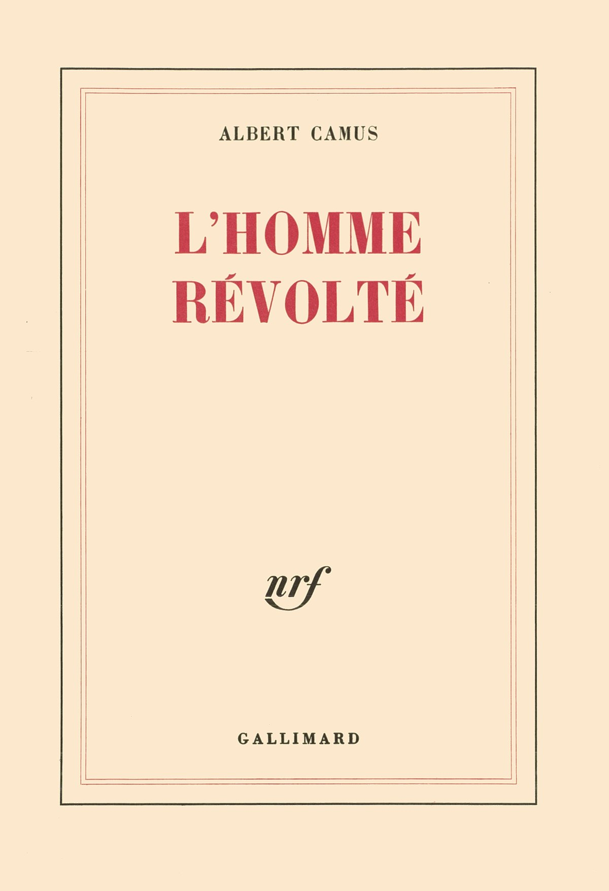 Je Me Révolte Donc Nous Sommes : révolte, sommes, Rebel, (book), Wikipedia