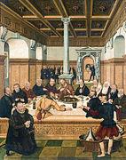 La Vraie Et La Fausse église : vraie, fausse, église, Lucas, Cranach, Jeune, Vikidia,, L'encyclopédie
