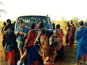 Ethnic groups - tribe at Kenya, Massai