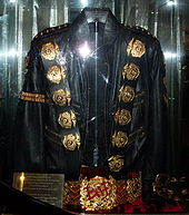 Michael Jackson gold jacket of the Bad era