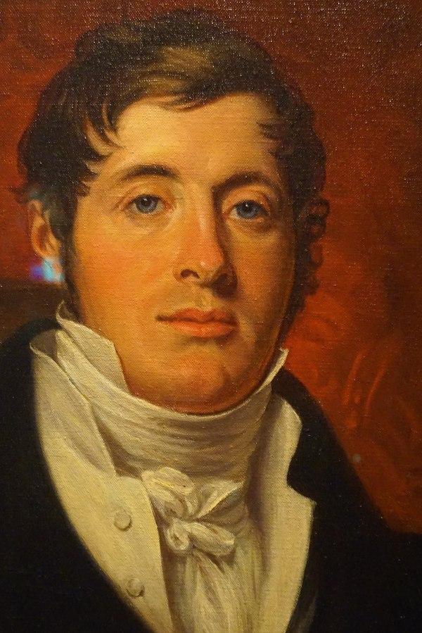 Portrait Of Sir Thomas Stamford Bingley Raffles Joy