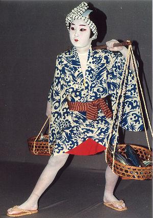 Katsuo-uri((dance of)fish seller(kabuki dance))