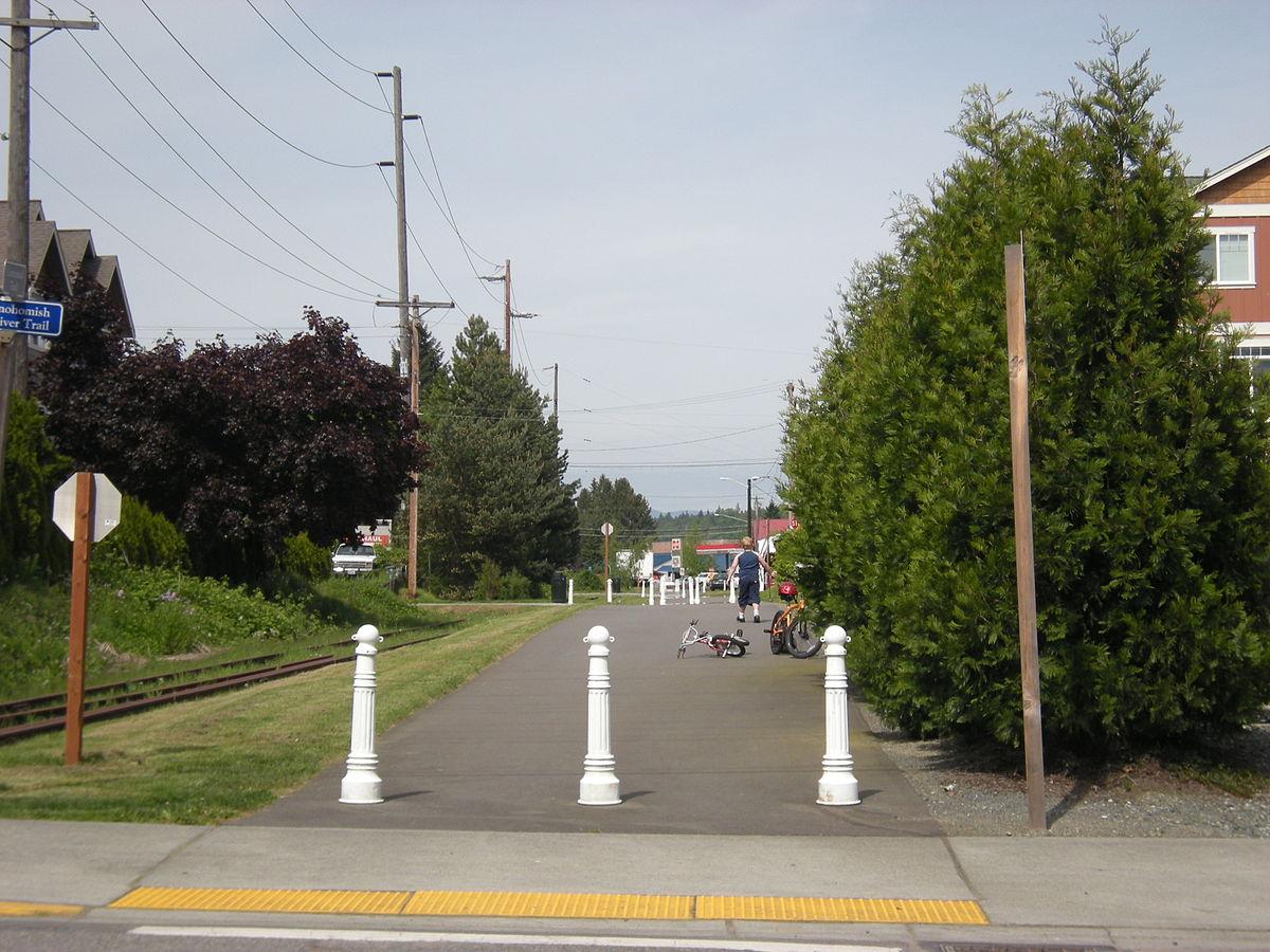 Snohomish County Centennial Trail  Wikipedia