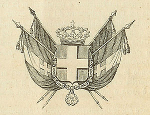 Royal house of Savoy Coat of Arms, flags of th...
