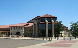 The Student Union building at Texas Tech Unive...